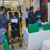Evac+Chair exhibit their solutions at the forum