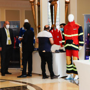 Anthem protective work gear was displayed at the HSE UAE Forum
