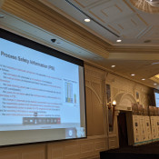 Dr. Waddah Ghanem presents a virtual discussion on Process safety management & human factors - An experiential approach